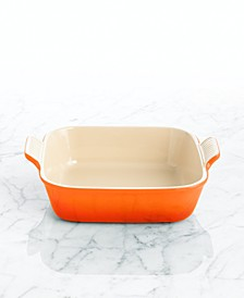 "Heritage Stoneware 9"" Square Baking Dish"