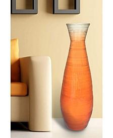 "Bamboo Floor Vase, 31.5"" Tall"
