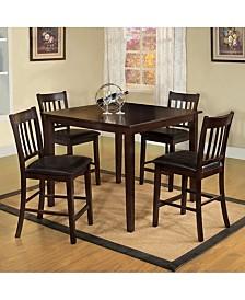 Benzara Counter Height Table Set