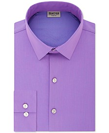 Men's Slim-Fit All Day Flex Performance Stretch Solid Dress Shirt
