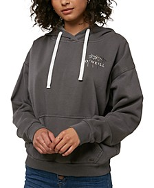 Juniors' Pismo Tropics Graphic-Print Fleece Hoodie