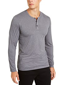 Men's Henley Sleep Shirt