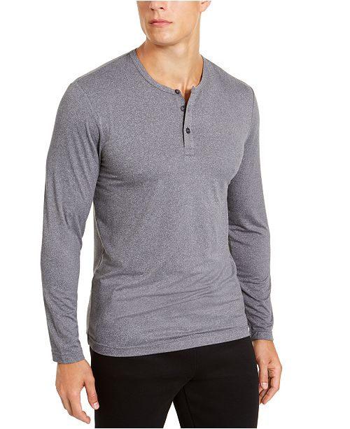 32 Degrees Men's Henley Sleep Shirt