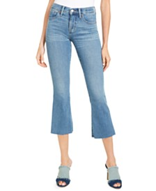 Lucky Brand Ava Capri Flare Jeans