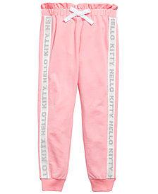 Hello Kitty Little Girls French Terry Track Pants