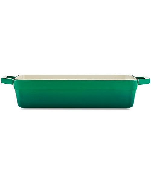 Martha Stewart Collection Enameled Cast Iron Lasagna Pan, Created for Macy's