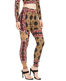 Clovia Printed Leggings