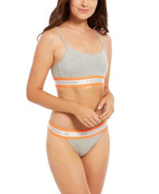 Women's Neon High-Cut Bikini Underwear QF5571