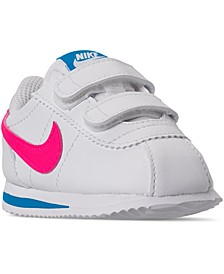 Toddler Girls Cortez Basic SL Casual Sneakers from Finish Line