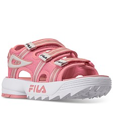 Fila Big Girls Disruptor Athletic Sandals from Finish Line