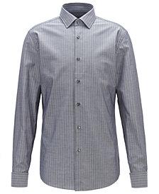 BOSS Men's Jacques Slim-Fit Striped Cotton Shirt