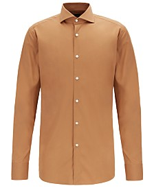 BOSS Men's T-Christo Slim-Fit Poplin Shirt