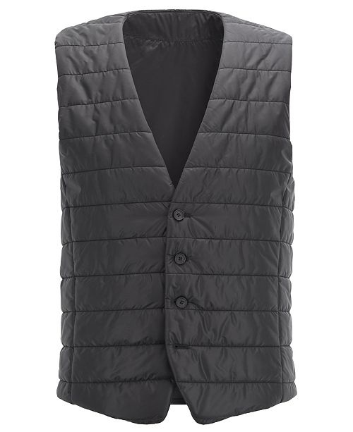 Hugo Boss BOSS Men's Hiwan Slim-Fit Quilted Bodywarmer