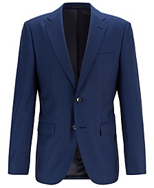 BOSS Men's Jeckson Regular-Fit Micro-Patterned Jacket