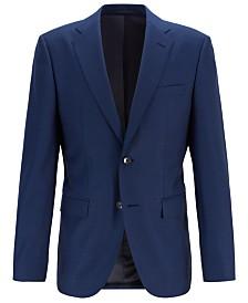 BOSS Men's Jeckson Regular-Fit Micro-Patterned Jacket