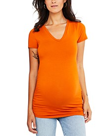 Maternity Ruched T-Shirt