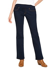 Ella Pull-On Bootcut Jeans, Created for Macy's
