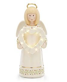 Lit Angel Figurine