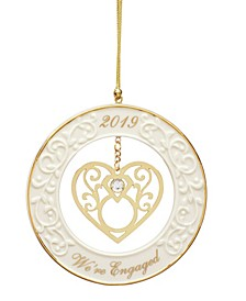 2019 Were Engaged! Ornament