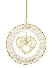 Lenox 2019 Were Engaged! Ornament