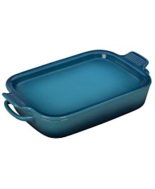 Le Creuset Rectangular 3.5-Qt. Dish With Platter Lid