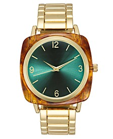 INC Women's Gold-Tone Bracelet Watch 42mm, Created For Macy's