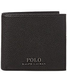 Men's Pebble Leather Wallet