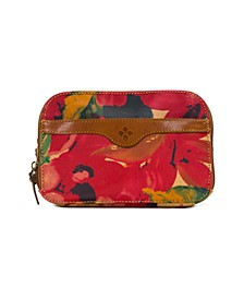 Coated Canvas Gabella Cosmetic Pouch