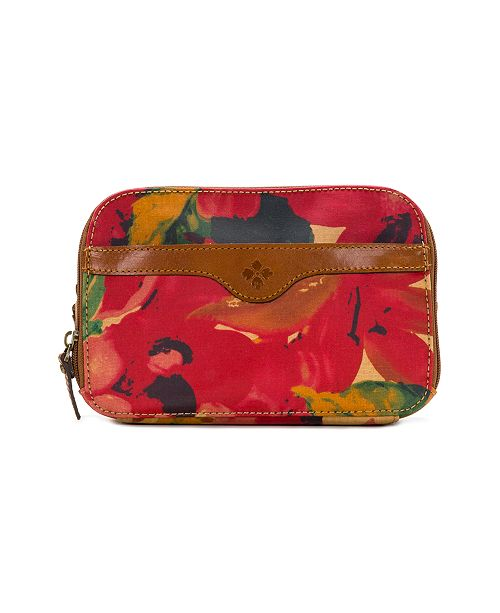 Patricia Nash Coated Canvas Gabella Cosmetic Pouch