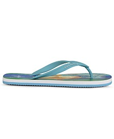 Guy Harvey Men's Cayman Redfish Flip-Flop Sandal