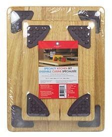 Gripperwood Cutting Board Set