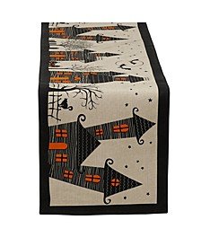 Haunted House Table Runner