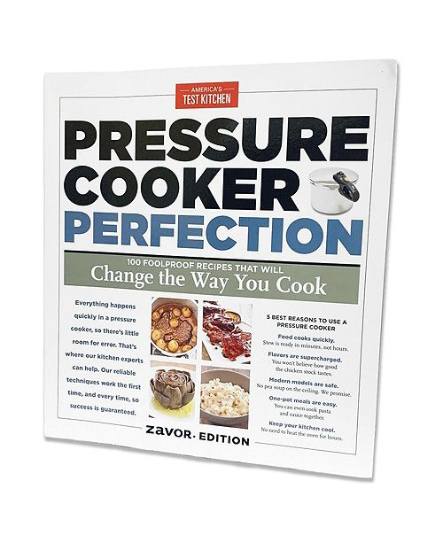 Duo 10 Qt Pressure Cooker Canner With Americas Test Kitchen Pressure Cooker Perfection Cookbook