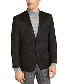 Men's Classic-Fit Faux-Suede Sport Coat