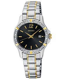 Women's Two-Tone Stainless Steel Bracelet Watch 28mm