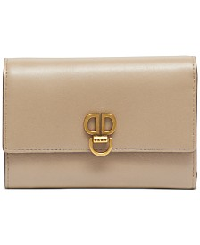 DKNY Linton Small Leather Flap Wallet, Created for Macy's
