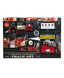 Train Set Motorized with Sound 30pcs