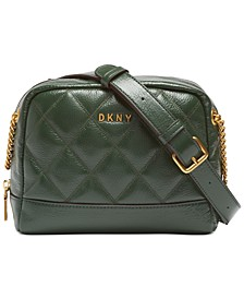 Sofia Double-Chain Leather Shoulder Bag, Created for Macy's