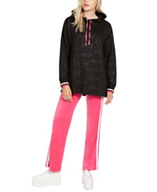 Juicy Couture Juniors' Oversized Logo Hoodie