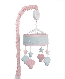 Sugar Reef Mermaid Musical Crib Mobile