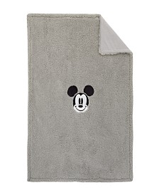 Disney Mickey Mouse Sherpa Blanket with Applique