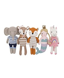 Cuddle Me Knitted Plush Toy Collection