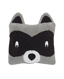 Raccoon Decorative Pillow
