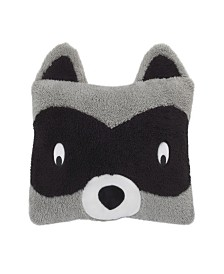 Nojo Raccoon Decorative Pillow