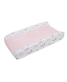 Woodland Wreath Plush Changing Pad Cover