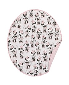 Minnie Mouse Round Quilted Blanket