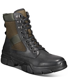 INC International Concepts Men's Donivan Utility Boots