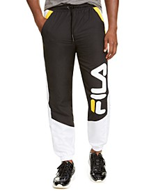 Men's Gustavo Colorblock Logo Joggers
