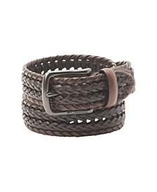 Two-Tone Braided Belt