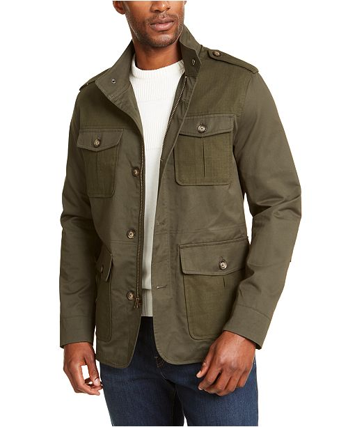 Club Room Men's Utility Jacket, Created For Macy's